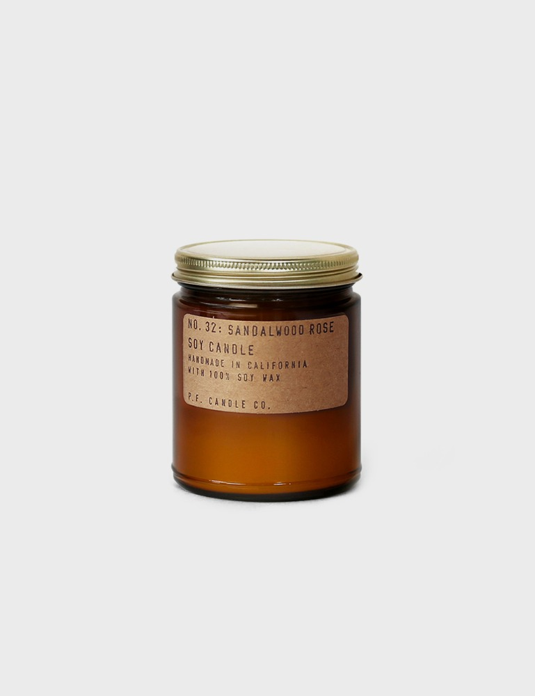 MAISON246,[P.F CANDLE.CO] 소이 캔들 로즈 샌달우드 (32),P.F. CANDLE CO.