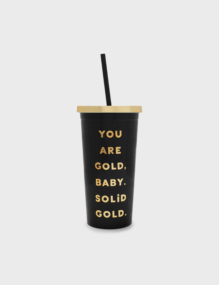 MAISON246,[밴도] SIP 텀블러 YOU ARE SOLID GOLD (DELUXE),ban.do