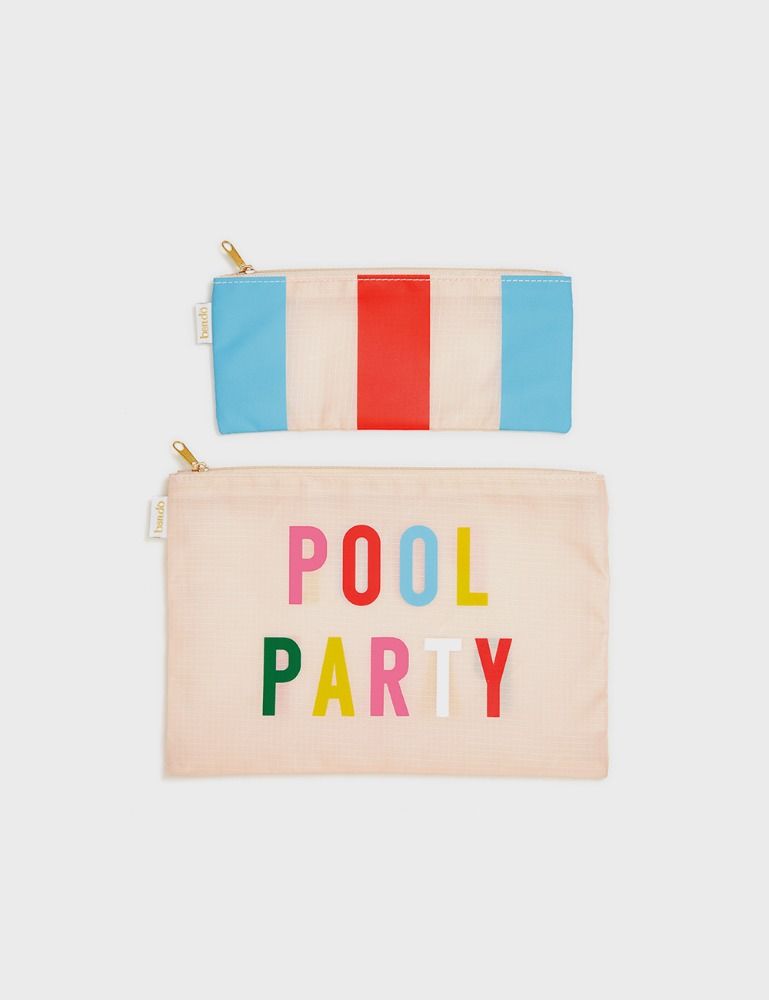 MAISON246,[밴도] 파우치 듀오 POOL PARTY,ban.do