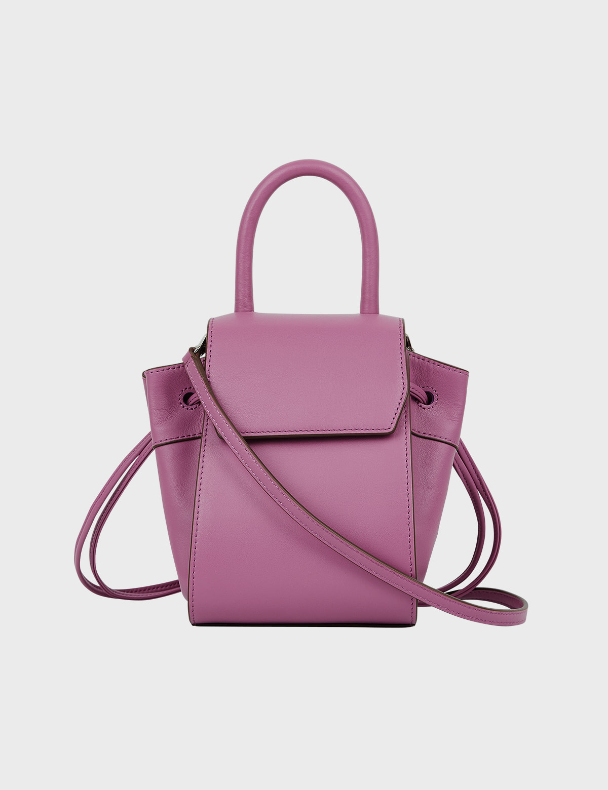 MAISON246,[퍼/메탈체인증정]246 PANIER BAG - PINK PURPLE,No.246