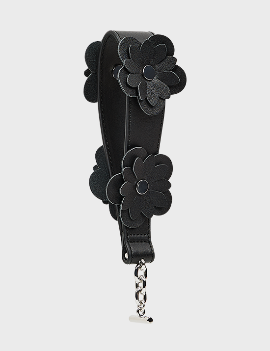 MAISON246,246 FLOWER BAND - BLACK,No.246