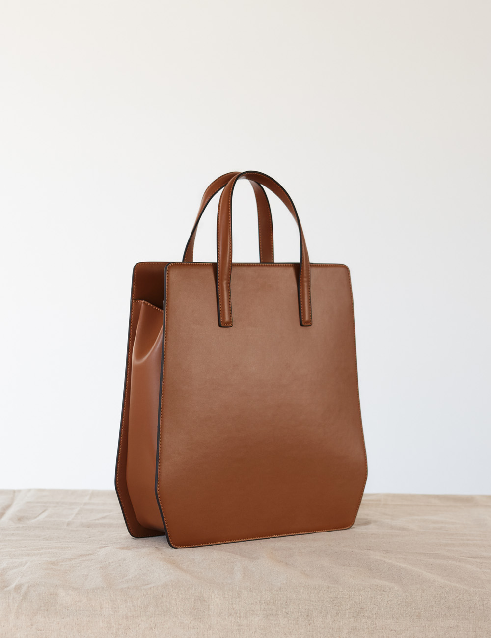 MAISON246,246 ABBA BAG - TAN,No.246