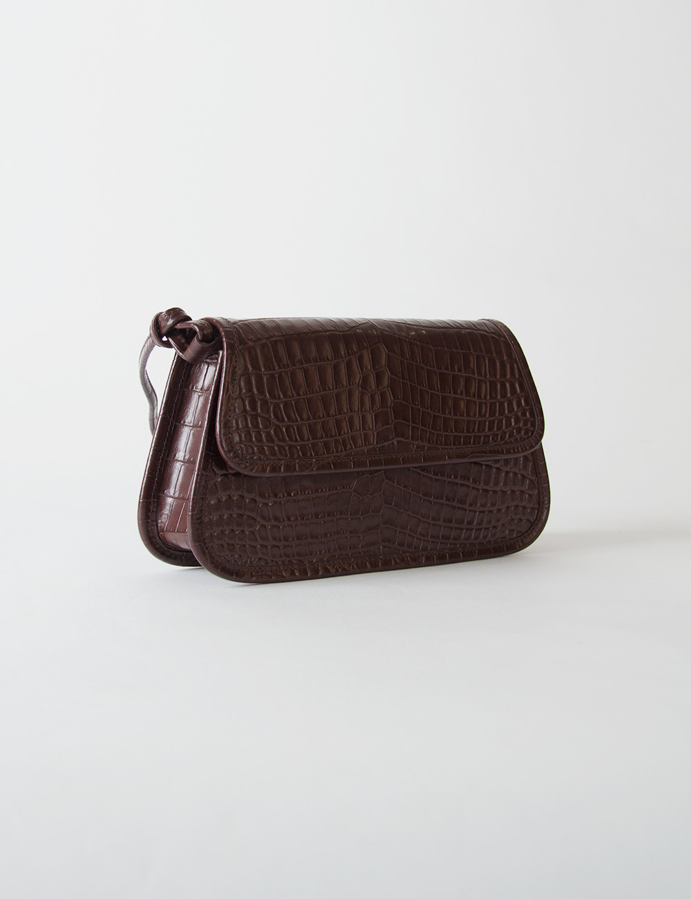 MAISON246,[2차 리오더][사은품증정]246 KOE MINI CROCO_BROWN,No.246